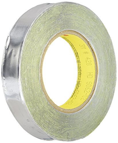 (3M Lead Foil Tape 420 Dark Silver, 1