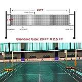 GeWeDen Badminton Net, Outdoor Indoor Badminton