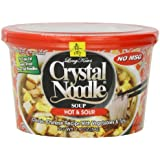 Crystal Noodle Hot and Sour Soup, 1.9-Ounce Cup (Pack of 6)