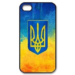Ukrainian Flag IPhone 4/4s Cases, Kweet - Black