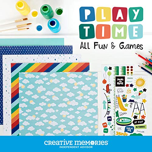 Creative Memories Playtime Play Ground Theme Pack Paper /& Sticker Scrapbook /& Card Making Starter Kit