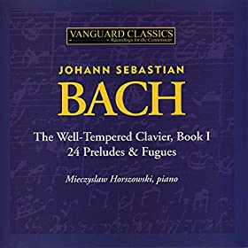 Amazon Com The Well Tempered Clavier Book I Prelude No