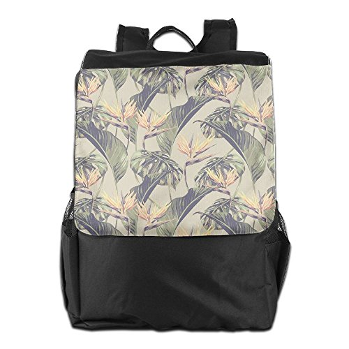 Golite Mens Backpack (Tropical Leaves Outdoor&travel&sports Shoulder Bags For Man And Woman)