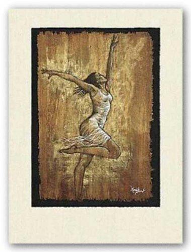 (24x32) Monica Stewart Dance of Joy I Art Print Poster