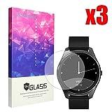 Lamshaw For Diggro DI03 Screen Protector, 9H Tempered Glass Screen Protector for Diggro DI03 Smart Watch (3 pack)
