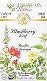 CELEBRATION HERBALS Blackberry Leaf Organic 24 Bag, 0.02 Pound