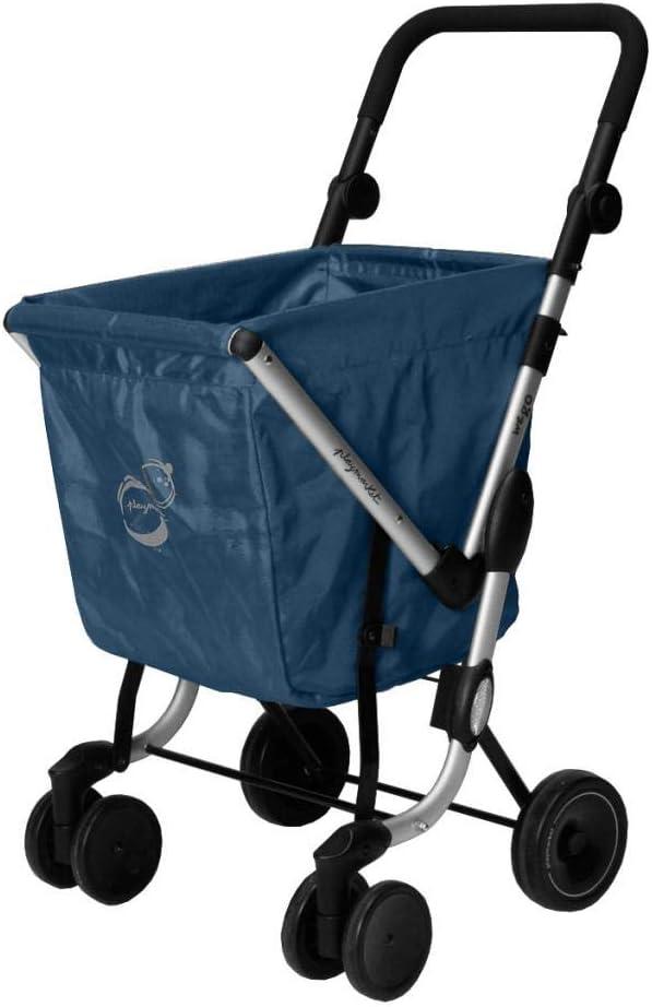 50 liters Playmarket We Go Basic Valise Mist 97 cm Bleu