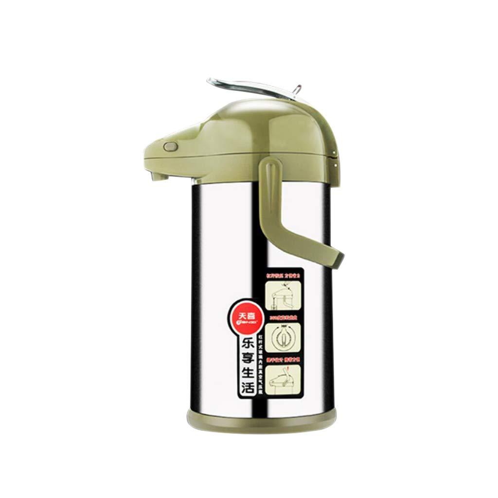 HTTDIAN 空気のやかん▏魔法瓶ボトル家庭用沸騰水瓶▏ガラスライナープレスケトル断熱ポット   B07MGJBH69