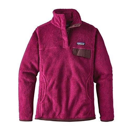 Patagonia Women's Re-Tool Snap-T Fleece Pullover (M, Magenta/Magenta XDye)