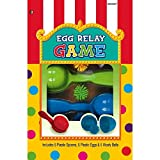 Amscan Carnival Fair Fun Egg Relay Game Party Activity