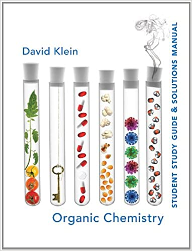 Amazon student study guide and solutions manual for organic student study guide and solutions manual for organic chemistry 1st edition by david r klein fandeluxe Choice Image