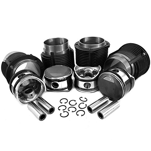 (AA Performance Products 86mm Porsche 356C/912 Big Bore Piston & Cast Cylinder Kit)