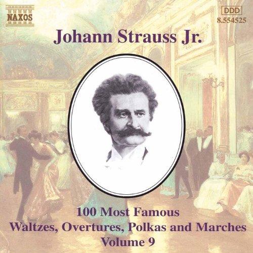Strauss II, J.: 100 Most Famous Works, Vol. 9