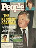 Ted Kennedy and Willy Smith, Michael Landon, George Foreman - April 22, 1991 People Weekly Magazine