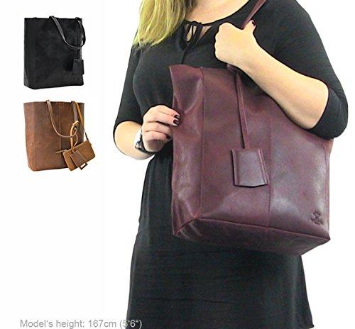 Tempo 33 Cuoio Cassidy Donna Bag Vera 2h51 Marrone Il Gusti Borsa Per 1 Libero Leder Pelle Studio Shopping Di TCOAwq