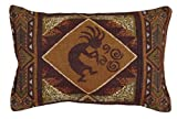 Kokopelli Southwest 1LAP2GO Exclusive 9''x12'' Decorative Tapestry Toss Pillow Made in the USA
