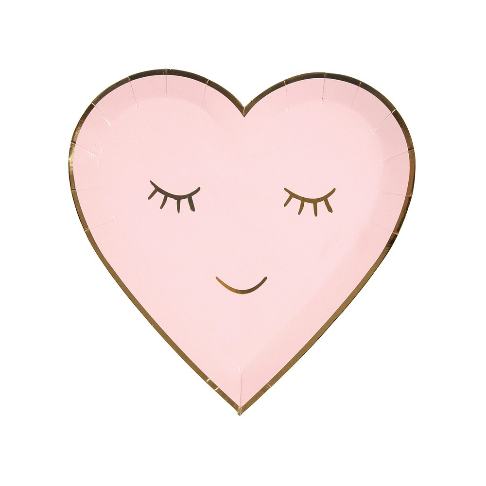 Meri Meri Blushing Heart Small Plates