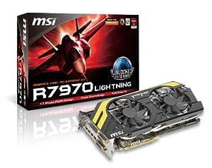 MSI Computer Corp. AMD Radeon HD 7970 3GB GDDR5 2DVI/4 Mini DisplayPort PCI-Express Video Card R7970 LIGHTNING