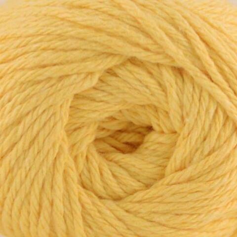 Premier Yarns 1033-03 Home Cotton Yarn - Solid Cone-Yellow