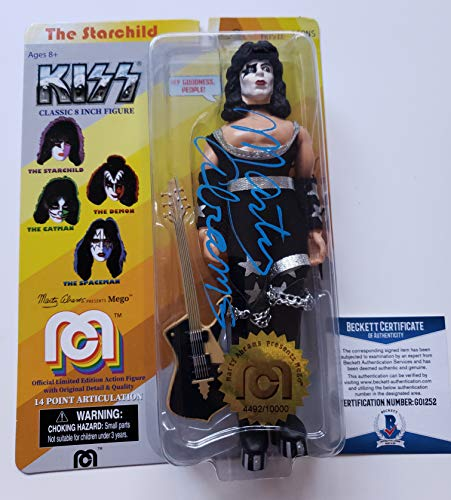 Marty Abrams autographed Mego Figure Doll Creator Star Child Kiss Band Beckett