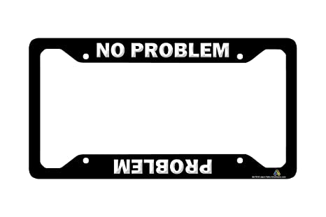 Amazon.com: Airstrike Jeep License Plate Frame, Funny License Plate ...