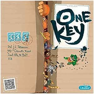 Asmodee Italia - One Key Juego de Mesa cooperativo de asociación de imágenes, Color, 8651: Amazon.es: Juguetes y juegos