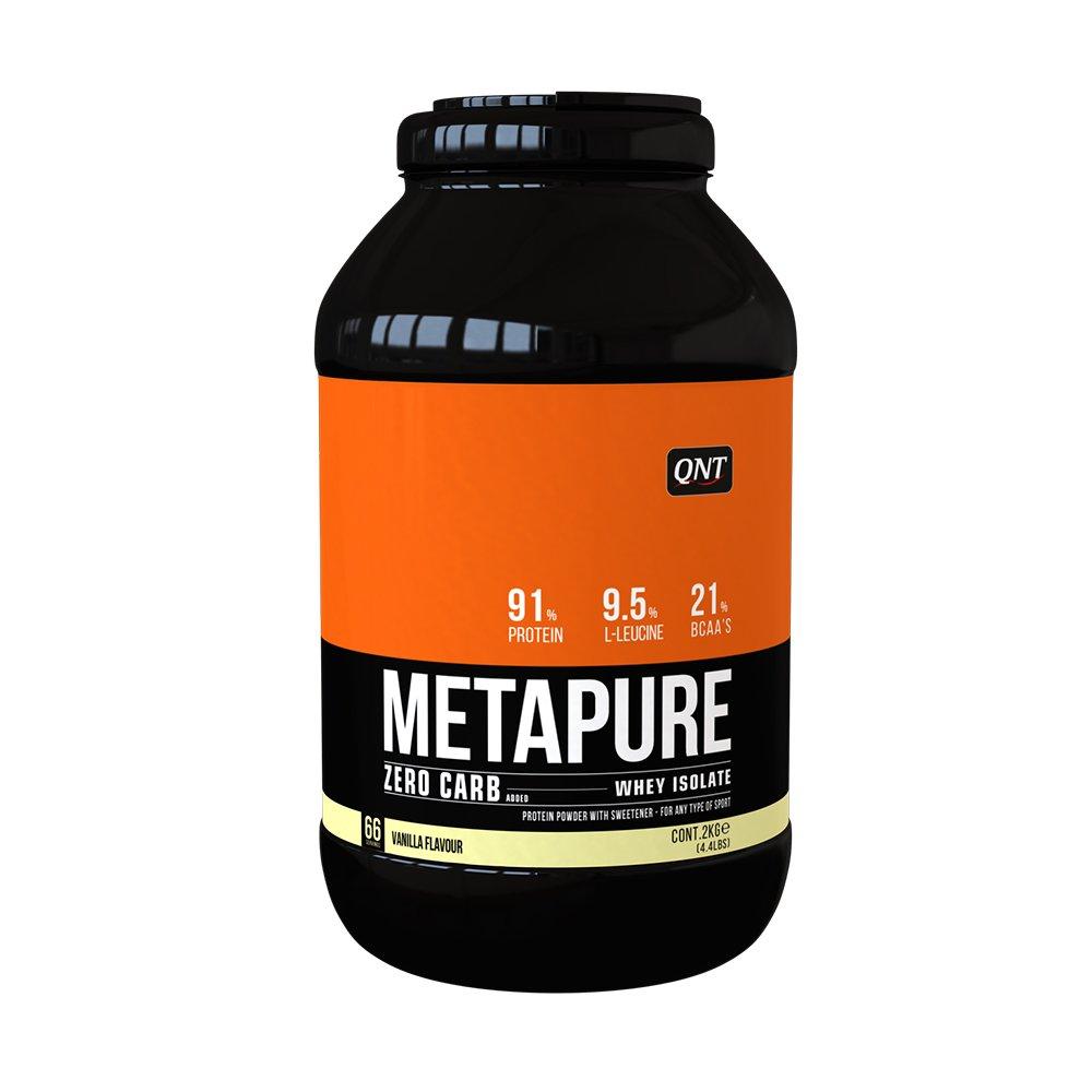 QNT Metapure Zero Carb Vanilla 2000g