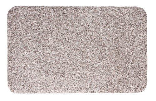 Andiamo 700603 Schmutzfangmatte Samson, Baumwolle, Waschbar bei 30 Grad celsius, 40 x 60 cm, uni / hellbeige