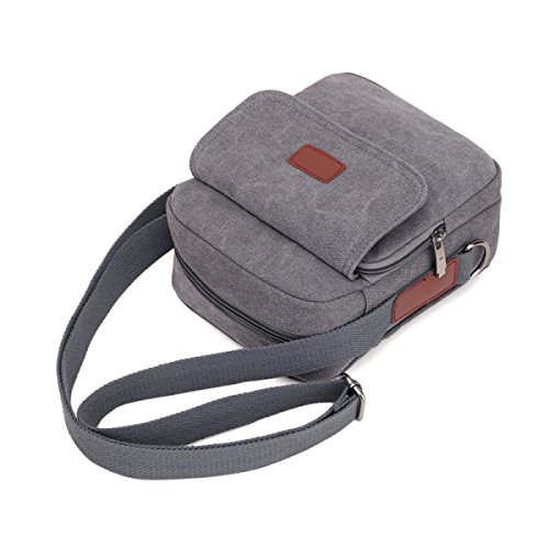 Bag Bag Brown Outdoor Canvas Men's Casual Fashion Shoulder brown Swg6q