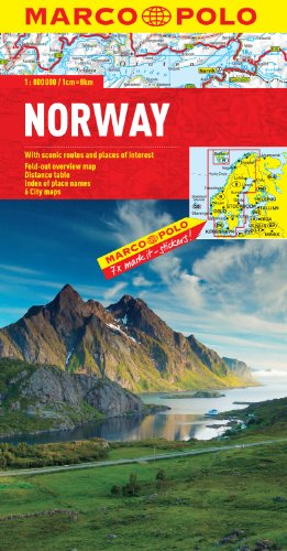 Norway Marco Polo Map (Marco Polo Maps)...