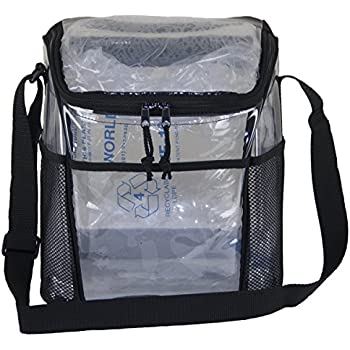 Amazon Com Medium Clear Lunch Bag Lunch Box With