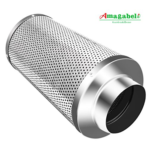 Amagabeli 4u2033 Carbon Filter for Indoor Plants Grow Tent Air Filters 4 Inch Activated Virgin Charcoal Air Scrubber 1050+ IAV Odor Control for Inline Fan ...  sc 1 st  Purify Your Air & Amagabeli 4u2033 Carbon Filter for Indoor Plants Grow Tent Air Filters ...