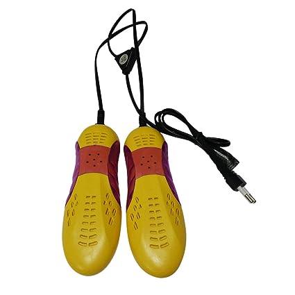Moliies Forma del Coche de Carreras Violeta Luz Secador de Zapatos Protector de pies Botas Olor