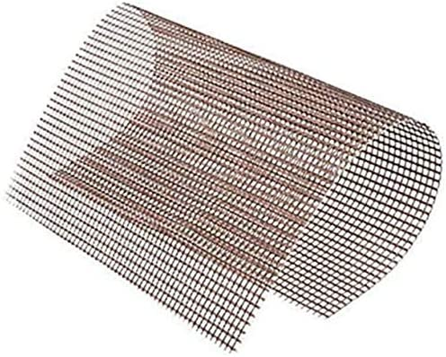 """Grille de barbecue anti-adhésive, réutilisable, résistant à la chaleur, tapis de grill en téflon - Convient pour fours et grilles d'extérieur - 5 pièces (15,75 x 13"""")"""
