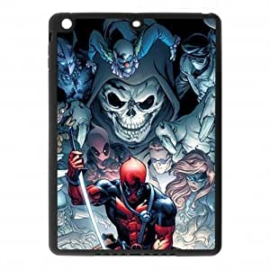 CTSLR DeadPool TPU Case Cover Skin for iPad Air iPad 5 - 1 Pack - Black/White - 7