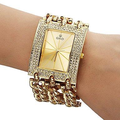 Fashion Watches Men's Diamante Dial Analog Quartz
