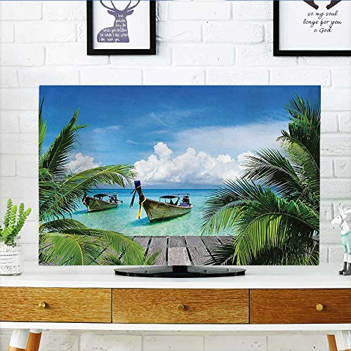 Leighhome Dust Resistant Television Protector Tropical and T