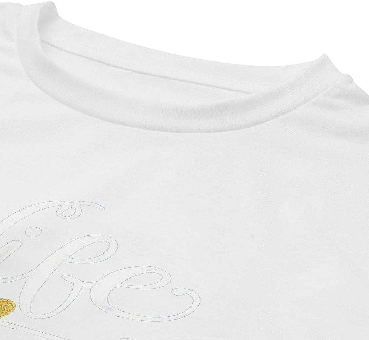 Mothers Day Navel Female T-Shirt for Girls Women Womans Youth Girls Tops Short Sleeve Tshirt Blouse Dew Navel