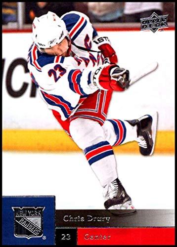- 2009-10 Upper Deck Hockey Series 1#65 Chris Drury New York Rangers Official NHL UD Trading Card