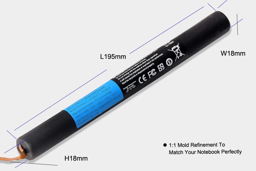 KingSener L14C3K31 - Batería para Lenovo Yoga Tablet 2 1050L ...