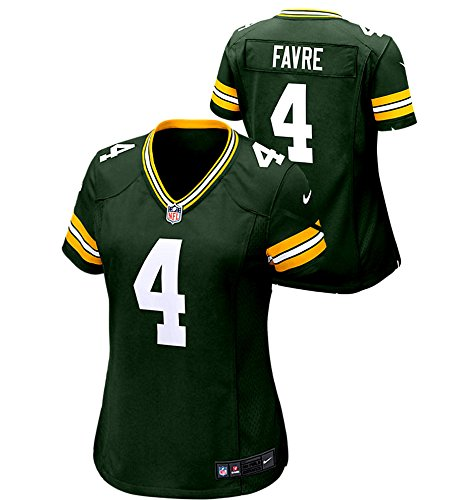 Women's Brett Favre Green Bay Packers Nike Game Day Jersey -2XL Brett Favre Green Bay Packers
