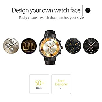Asus Zenwatch 3 Wi503q-gl-db 1.39-inch Amoled Smart Watch With Dark Brown Leather Strap 4