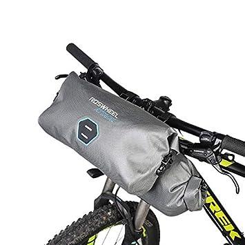 55bfe477d05 Bike Bag Warehouse Roswheel Attack Series Hypalon 100% Waterproof Handlebar  bag roll 12-litre: Amazon.co.uk: Sports & Outdoors
