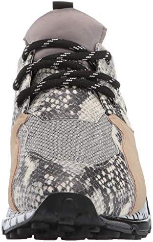 Steve Madden Myles Leopard Print Platform Dad Sneakers