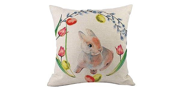 SO-buts - Juego de Fundas de cojín y sofá, diseño de Conejos ...