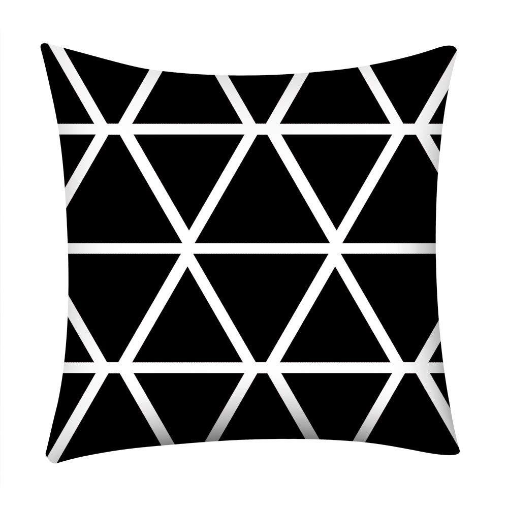 MURTIAL Pillow Case, Print Pillow Case Polyester Sofa Car Cushion Cover Home Decor