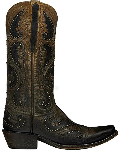 Lucchese Womens Handmade Pearl Ombre Gemma Cowgirl Boot Snip Toe - M5115 Light Brown sf4mgpGzb