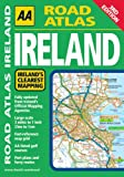 AA Road Atlas Ireland, AA Publishing Staff, 0749556064