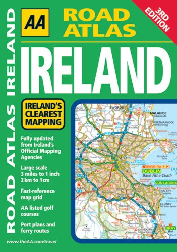 AA Road Atlas Ireland (Aa Atlases and Maps) -