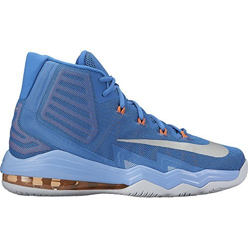 competitive price bf513 c5e0a Galleon - Nike Men Air Max Audacity 2016 Basketball Shoes - Star Blue   Metallic Silver (9.5)